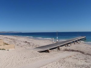 Normy beach picture